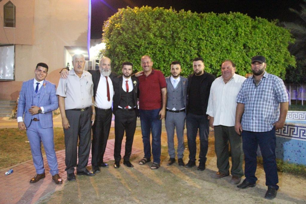 حفل زفاف الأستاذ : سعد أسعد سعد الفرا