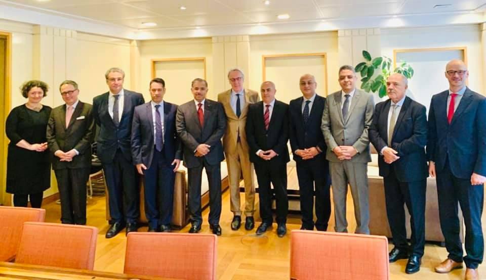 السفير الفرا يشارك في اجتماع ممثلي مجلس السفراء العرب ببروكسل