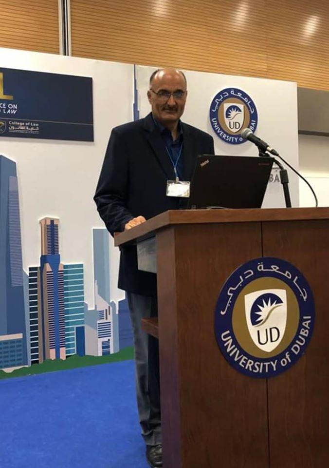 بروفسيور: ماجد محمد الفرا يشارك بمؤتمر علمي في جامعة دبي