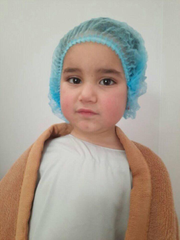 اجراء عملية جراحية للطفل: محمد احمد صابر عبدالكريم الفرا