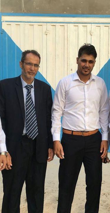 مناقشة مشروع التخرج للاستاذ: كمال عبدالغفار الفرا