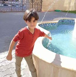 """تهنئة بالسلامة للطفل : محمد ابراهيم نايف الاغا """"تعرض لحادث سير"""""""