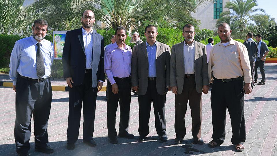 افتتاح مهرجان التسوق التجاري الحادي عشر بالجامعة الاسلامية