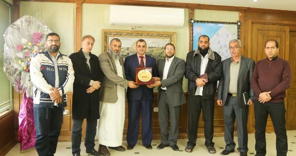 مناقشة الاحتياجات الطارئة لسكان مدينة حمد غرب خان يونس