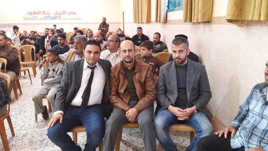 عشيرة السطرية تكرم مدرسي ومدرسات العشيرة بيوم المعلم الفلسطيني