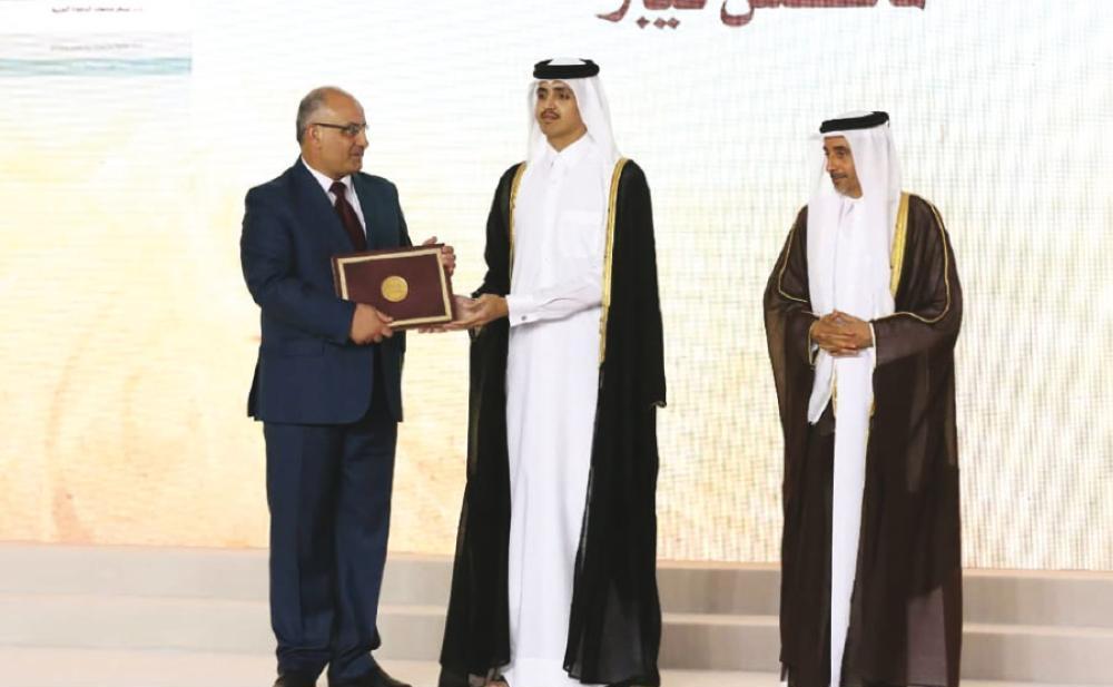 فوز فلسطين بجائزة الشيخ حمد للترجمة والتفاهم الدولي