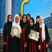 بنات عائلة الفرا يُنيرون حفل تكريم الحافظات لكتاب الله بالجامعة الاسلامية