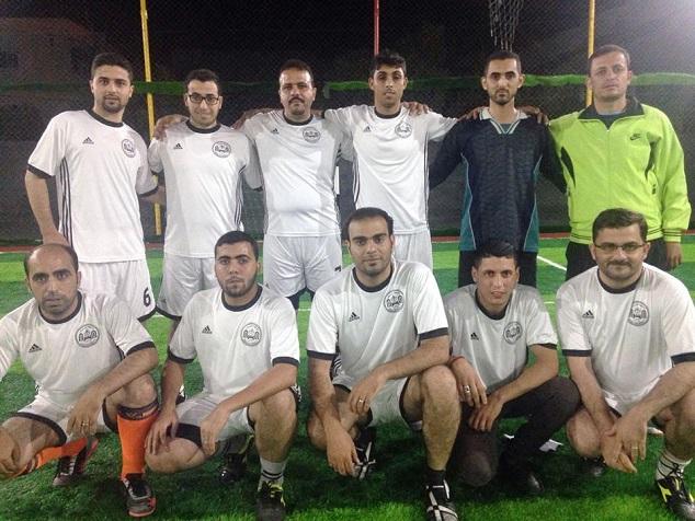 فريق جامعة الإسراء لدور 16 من البطولة الرمضانية بعد فوزه على جمعية السلامة