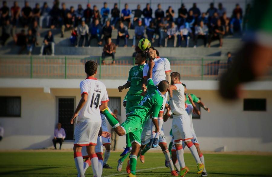 الصداقة يزيد معاناة غزة الرياضي ويعود للصدارة
