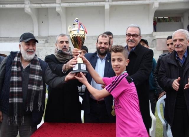 النجم بلال عباس يقود الهلال إلى لقب بطولة الأقصى للناشئين