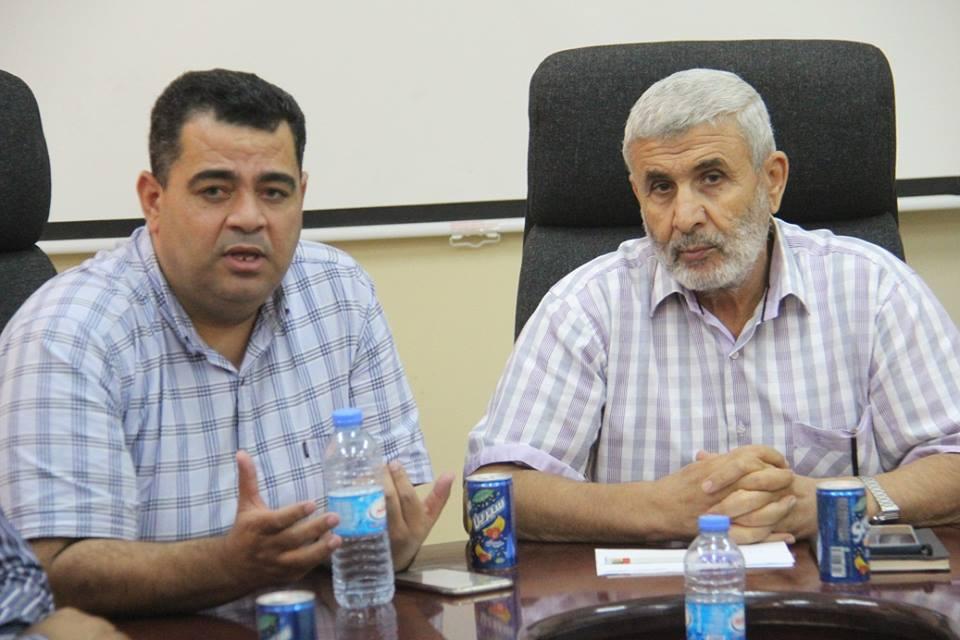 أندية محافظة رفح تبحث مشروع إعادة إعمار ملعب رفح البلدي