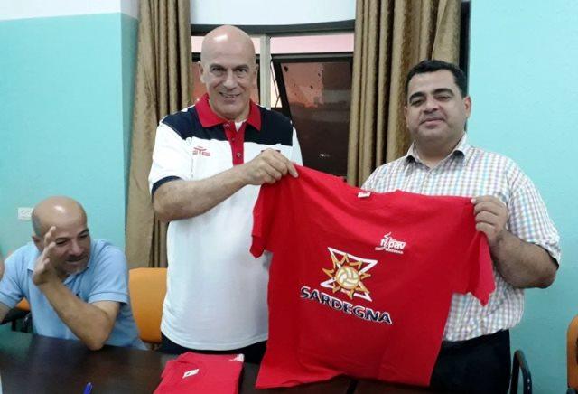وحدتنا سر قوتنا - دوري كرة طائرة في قطاع غزة