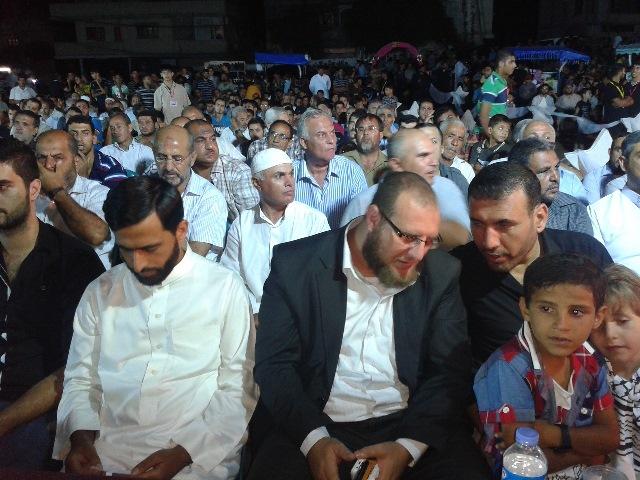حفل فوج الأقصى والاسرى تحت رعاية رجل الأعمال محمود صائب الفرا