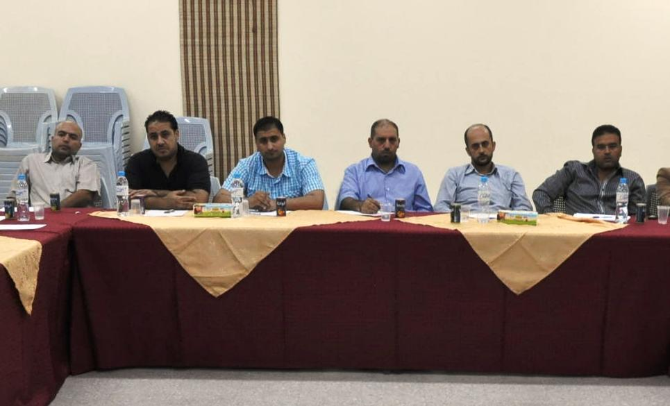 إدارة موقع الفرا تشارك في لقاء بلدية خان يونس لمدراء المواقع العائلية