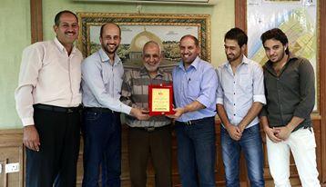 شكرت إدارة موقع الفرا و أعضاء لجنة الأنشطة بلدية خان يونس على إنجاحهم حفل التكريم