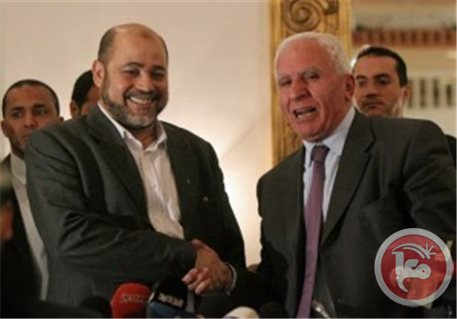 الاحمد في غزة للقاء قيادة حماس