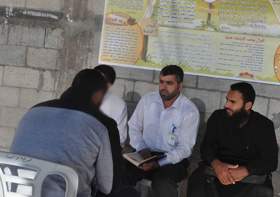 دار الكتاب و السنة تنظم اختبارا لنزلاء سجن أصداء فى أحكام التلاوة