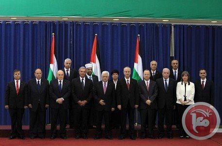 حكومة الوفاق تؤدي اليمين امام الرئيس في رام الله
