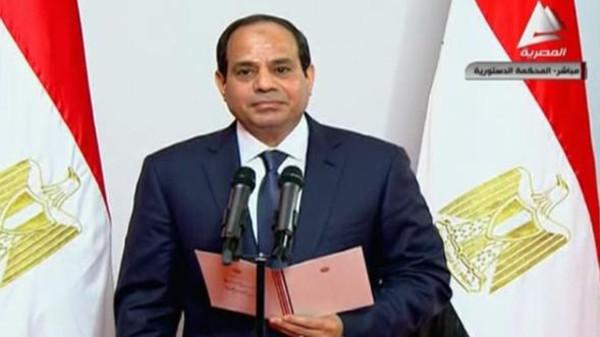 أدى السيسي يؤدي اليمين الدستورية رئيساً لجمهورية مصر العربية