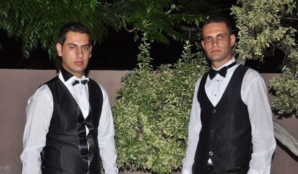 زواج الشقيقين الفاضلين : عبد الله وإبراهيم محمد سليمان الاسطل