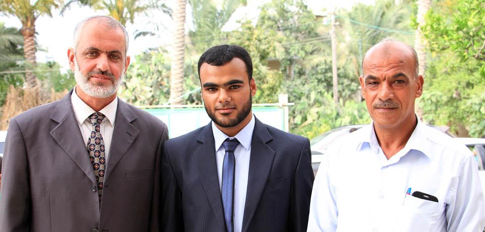 عقد قران الأستاذ/عمرو عبدالناصر الفرا