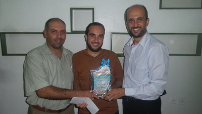 جائزة العضو المتميز - لجنة الأنشطة لعائلة الفرا