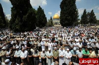 أسماء المصلين من غزة الذين سيتوجهون للصلاة بالاقصى يوم الجمعة