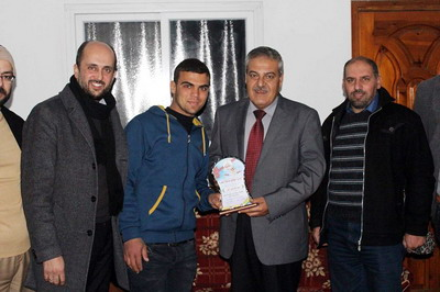 زيارة د.أسامة عبدالستار الفرا