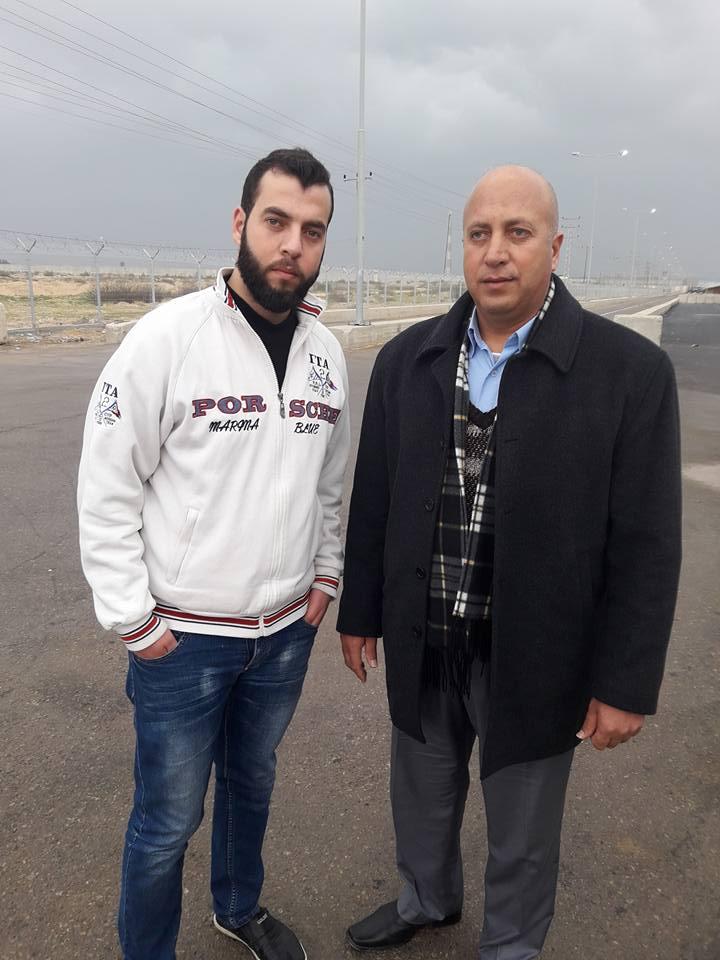 """السيد / محمد """"رمضان"""" عبدو عبدالله الفرا يغادر القطاع للعلاج"""