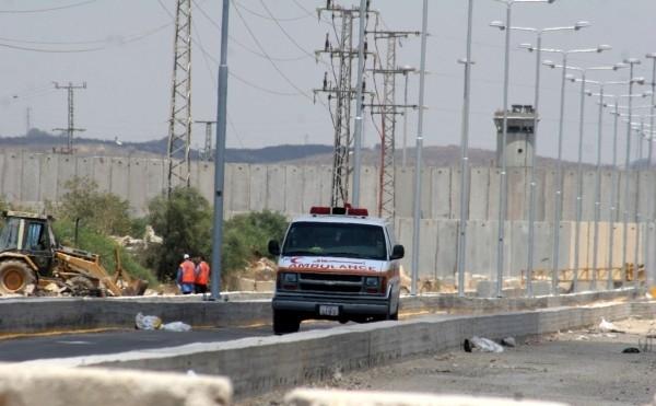 الطفلة : كريمان امين عبدالله الفرا تغادر قطاع غزة للعلاج
