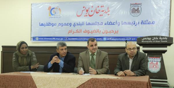 م. البطة: ملتزمون بتنفيذ مشاريع وبرامج لخدمة ذوي الإعاقة بخان يونس