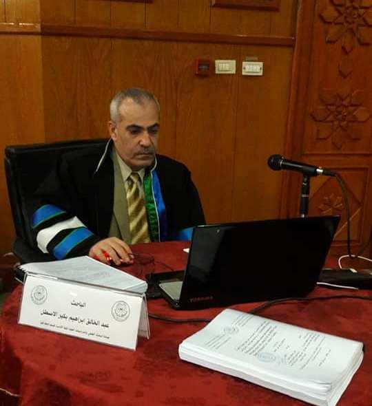 الباحث : عبدالخالق ابراهيم الاسطل يحصل على درجة الماجستير