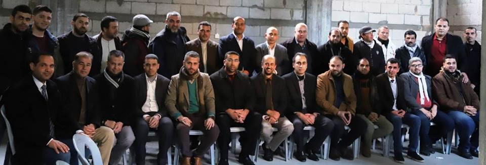 مجلس عائلات محافظة خان يونس يعقد مؤتمره الخامس ويختار لجنة تنفيذية جديدة