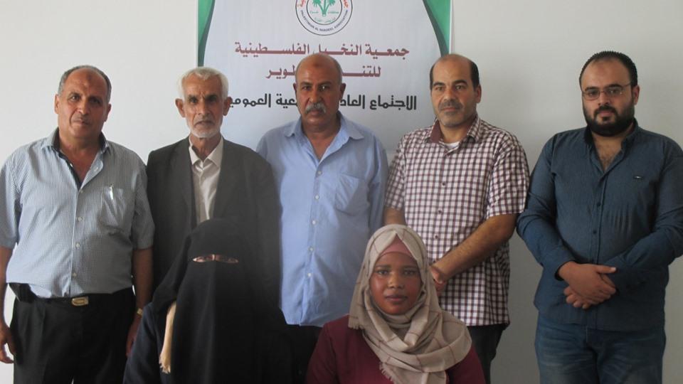 جمعية النخيل للتنمية والتطوير تنتخب مجلس ادارة جديد