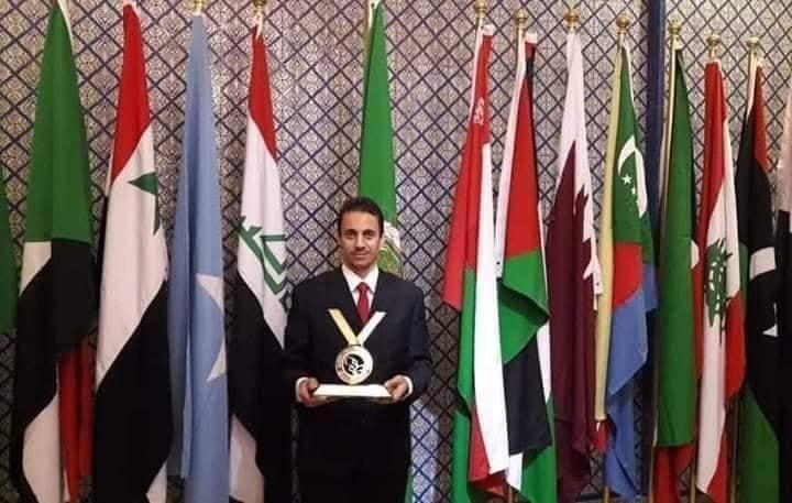 م. منذر القصاص يفوز بقلادة مؤسسة الامير محمد بن فهد