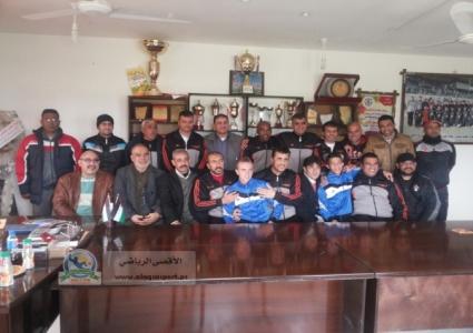 ملتقى المدربين يبارك لـبطل دوري غزة