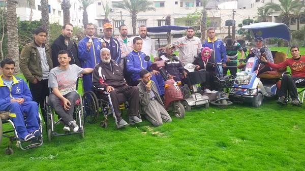 نادي الزهرة يحصل على المركز الاول بكرة الهدف للمعاقين بصرياً