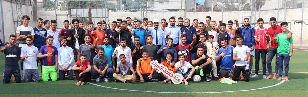 """جامعة الإسراء تختتم بطولة """"العودة"""" لخماسيات كرة القدم بنجاح مميز"""