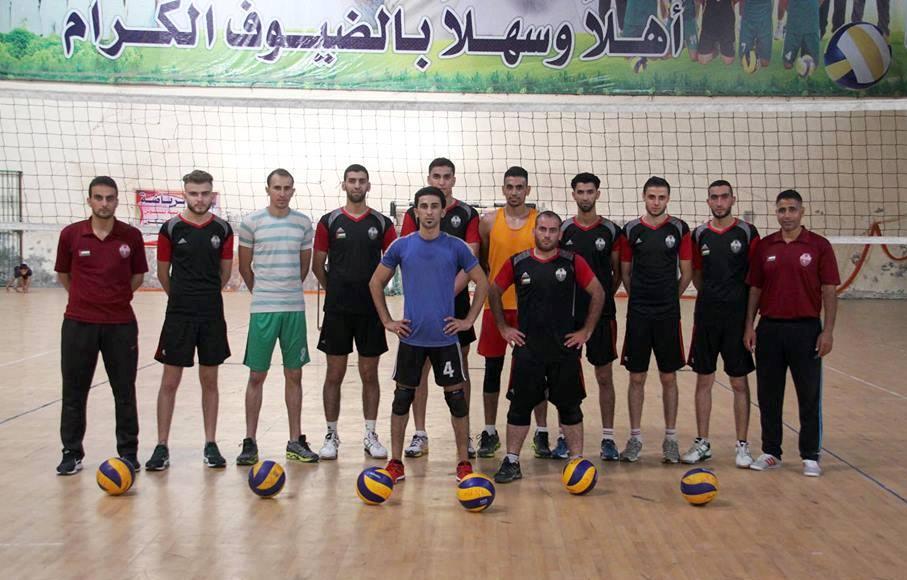 منتخب الكرة الطائرة يختتم استعداداته للمشاركة في البطولة العربية