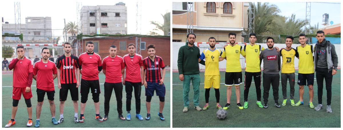 """فريقي مسجد السعيد و السقا الى نهائي بطولة المرحوم """"حماد الفرا"""" لكرة القدم"""